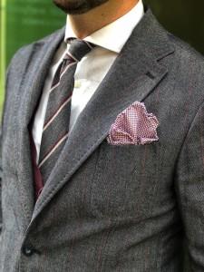 cravatta cachemire